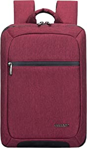 """Cocoon MCP3401RD Slim 15"""" Backpack with Built-in Grid-IT! Accessory Organizer (Red)"""