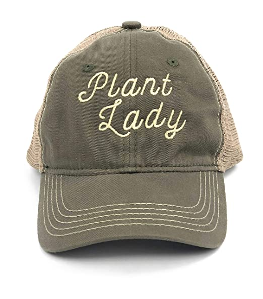 Hdco Plant Lady Hat Plant Lady Gift Succulent Plants Gift Garden Gifts For Women Plant Lover Gifts Plant Gift Gifts For Gardeners Women Plant Gifts For Women Olive Khaki Amazon In Clothing