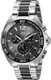 TAG Heuer Herren-Armbanduhr 43mm Armband Edelstahl Gehäuse + Schweizer Quarz Chronograph CAZ1011.BA0843