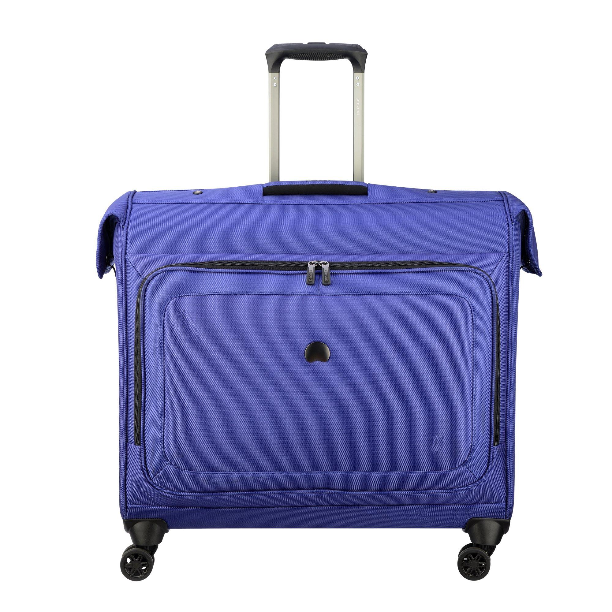 DELSEY Paris Cruise Lite Softside Spinner Trolley Garment Bag, BLUE