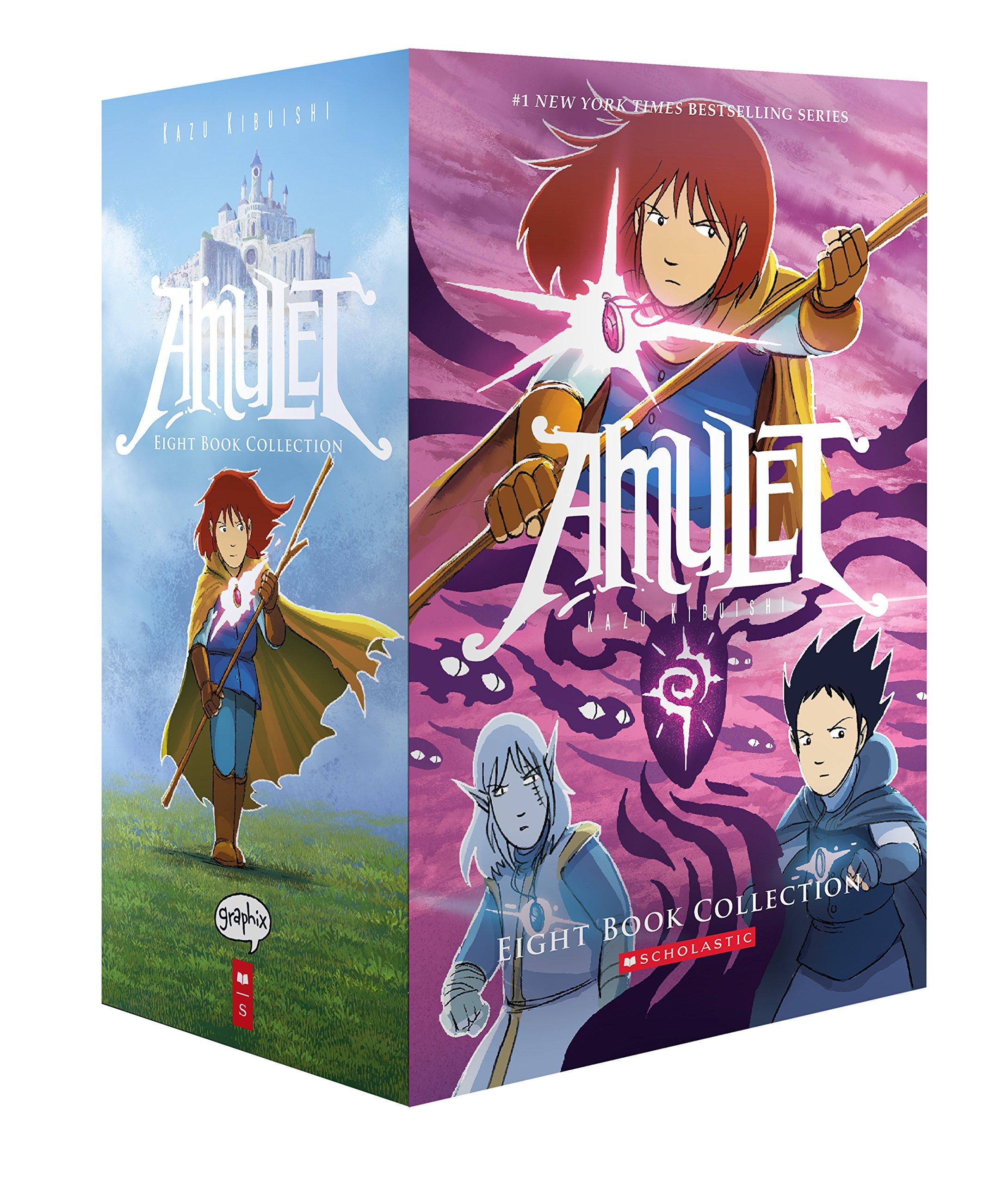 Amulet #1-8 Box Set