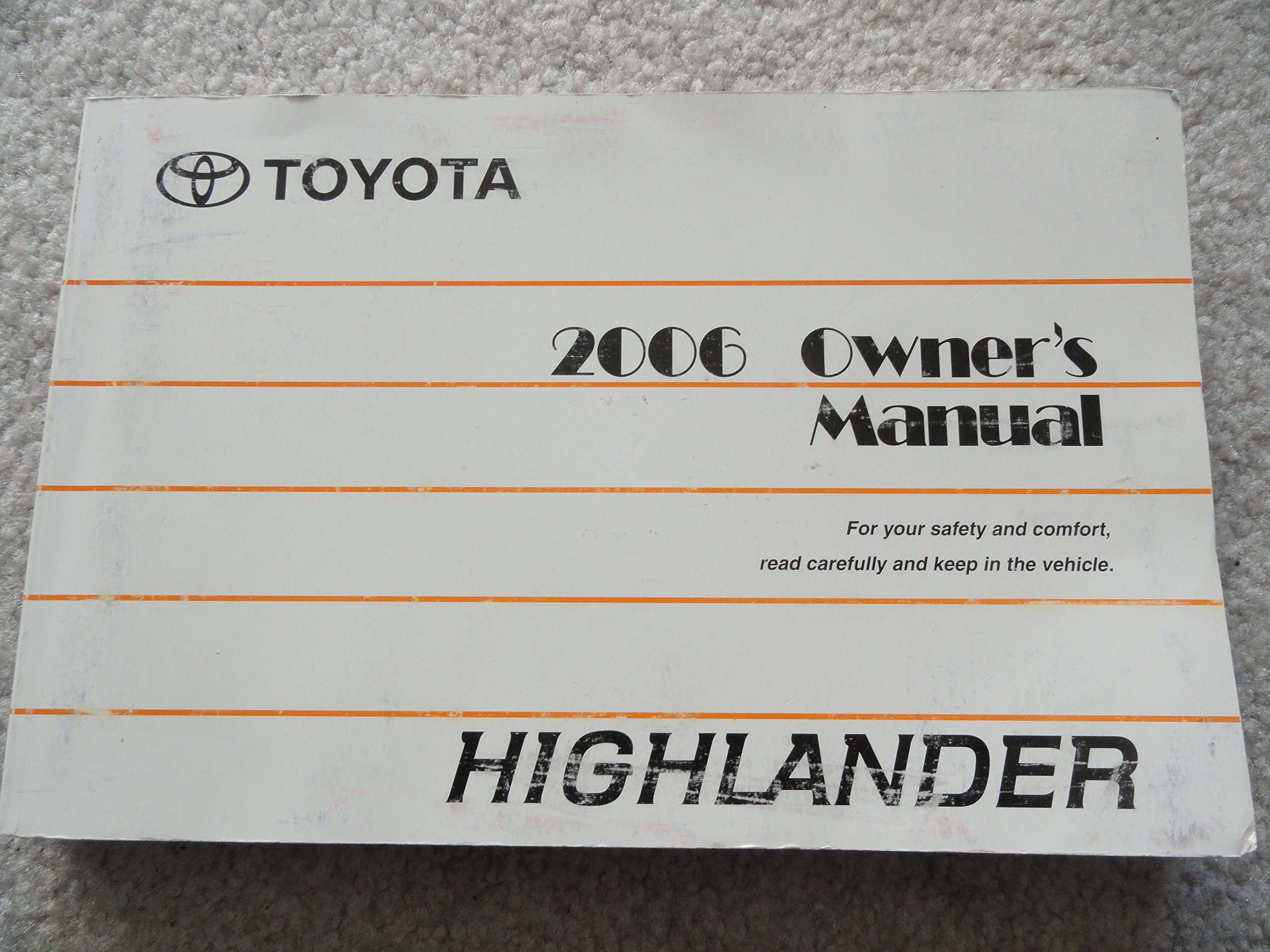Toyota Highlander Owners Manual: Personal lights