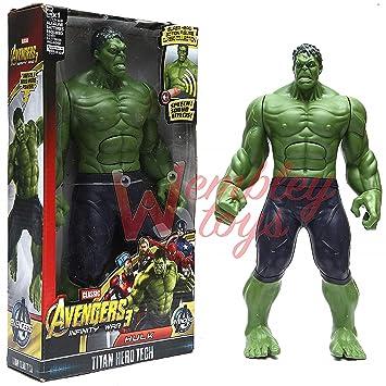 Marvel Avengers Super Hero Incredible Hulk Action Figure Toy Doll Unisex