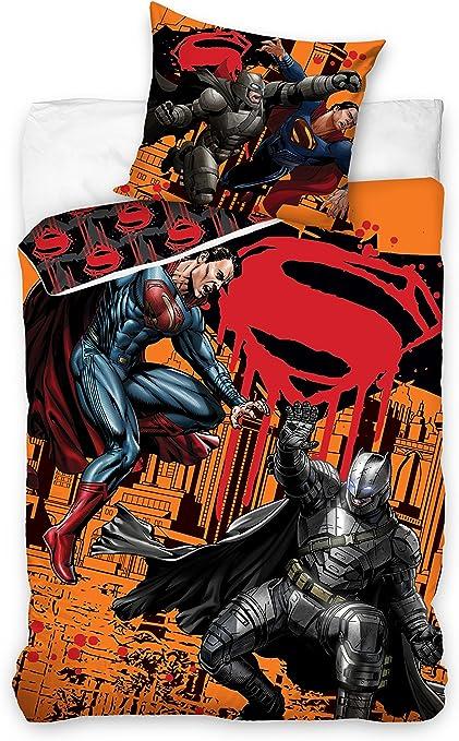 Copripiumino Superman.Copripiumino Singolo Cotone Batman V Superman 160 X 200 Cm Federa