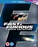 Fast & Furious 1-7 [Blu-ray] [2015] [Region Free]
