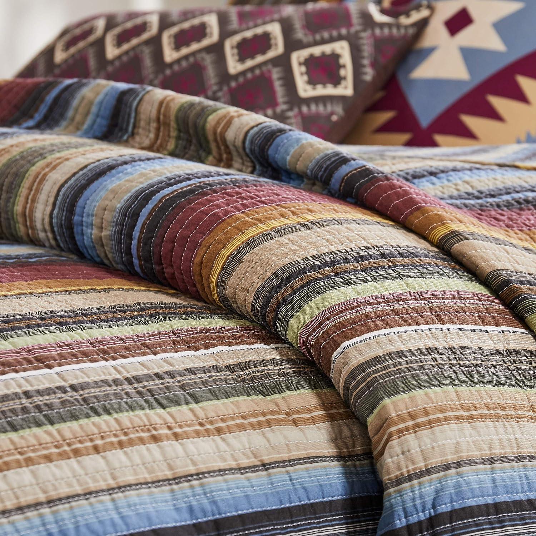 Greenland Home Durango Bedding Set 4-Piece Twin Stampede