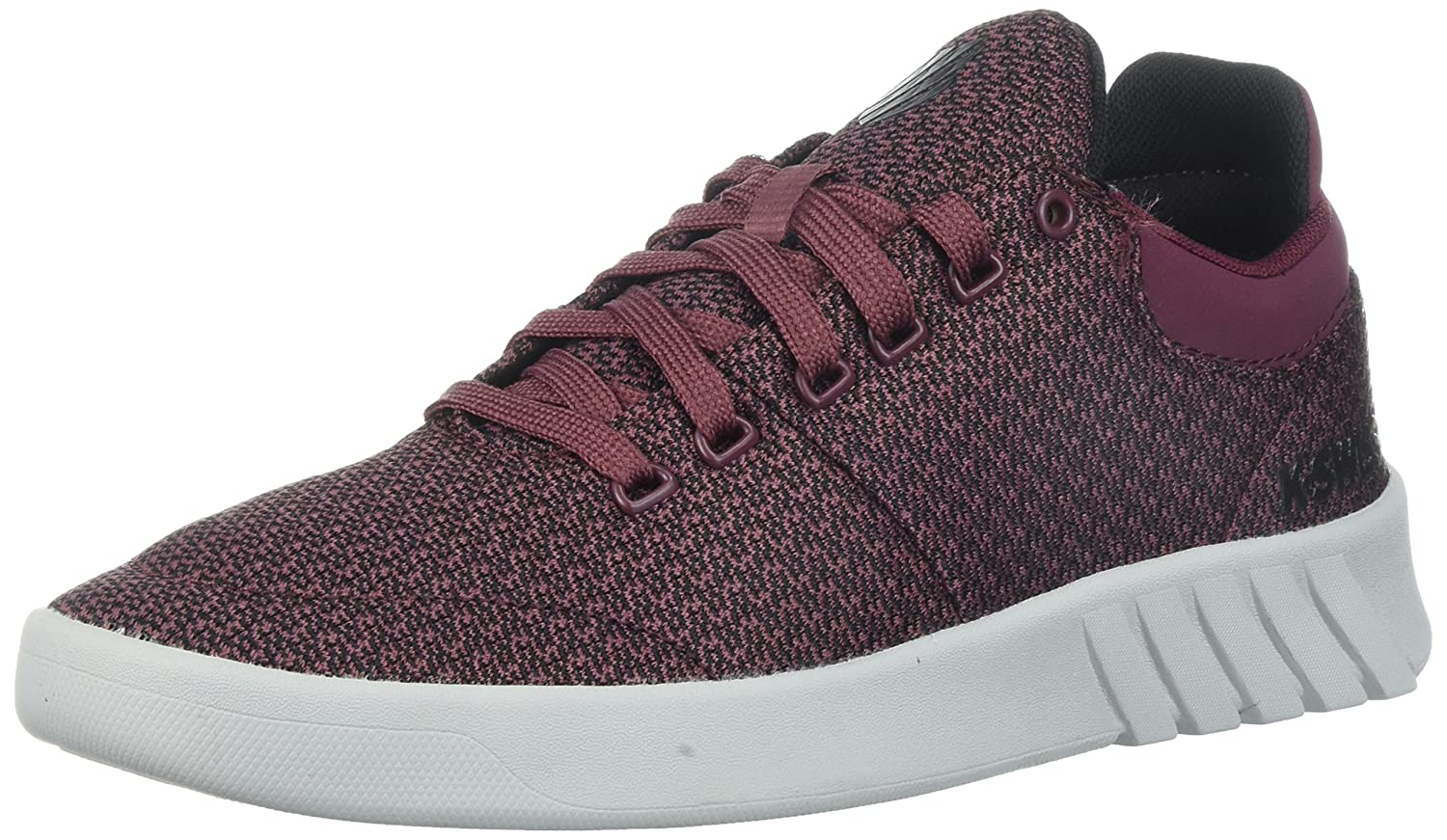 K-Swiss Women's Aero Trainer T Sneaker B071P3PR1D 6 B(M) US|Burgundy/Black