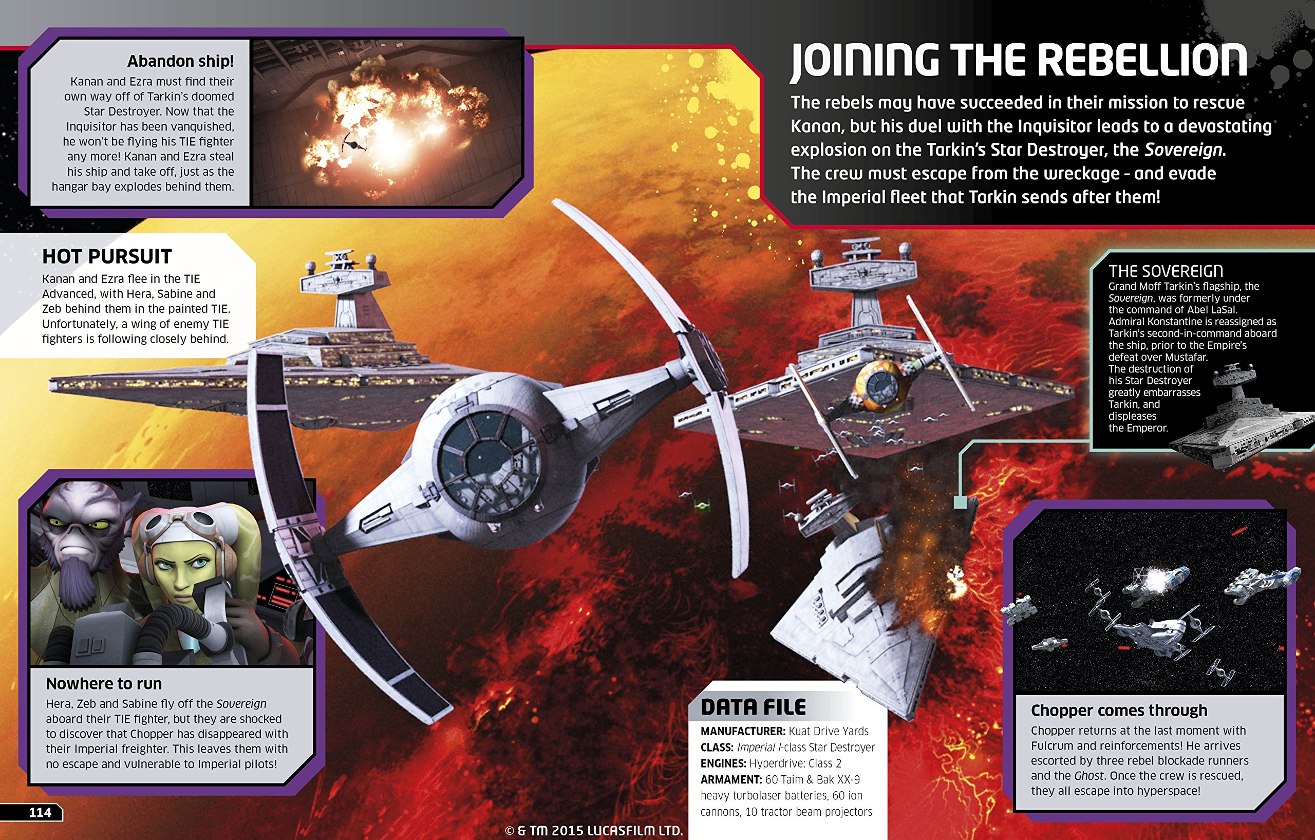 Star Wars RebelsTM The Epic Battle The Visual Guide: Amazon
