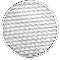 New Star Foodservice 50967 Pizza/Baking Screen, Seamless, Commercial Grade, Aluminum, 14 inch, Pack of 6