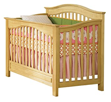atlantic furniture windsor convertible crib natural maple by