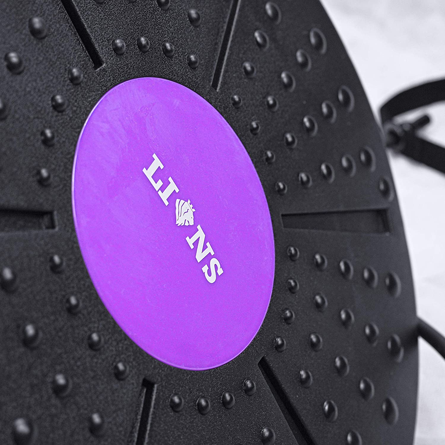 Pilates Lions Balance Board Wobble Pad with Resistance Gym Equipment for Adults Full Body Workout for Physio Core and Gymnastics