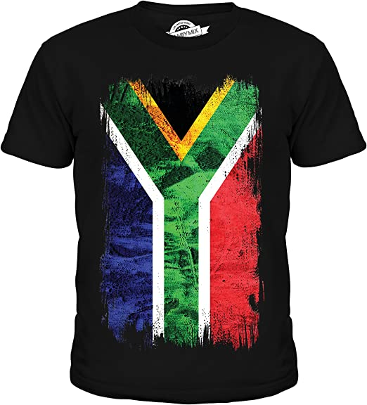 South Africa Flag Children/'s Kids Childs T Shirt