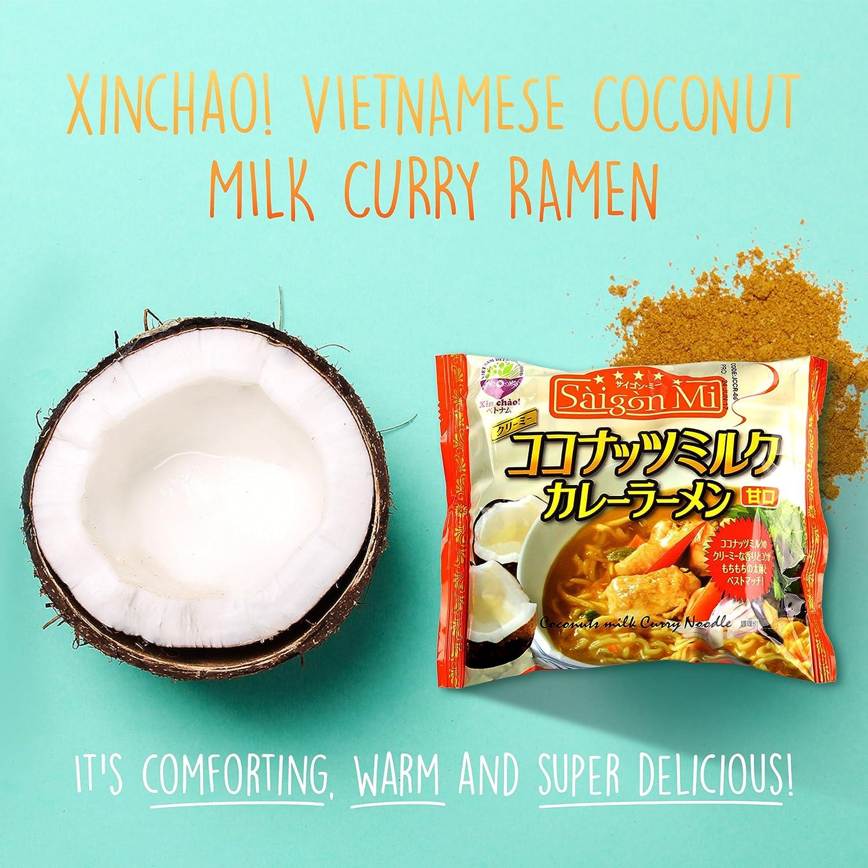 Amazon.com : Saigon Mi Instant Curry Ramen Noodles, Vietnamese Style ...