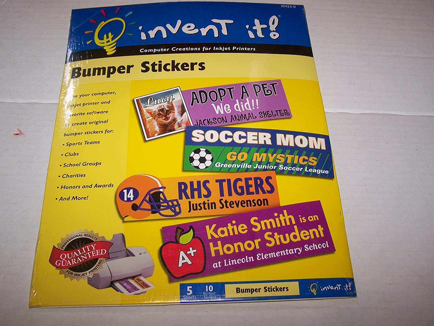 Amazon com bumper sticker printing paper photo quality paper office products