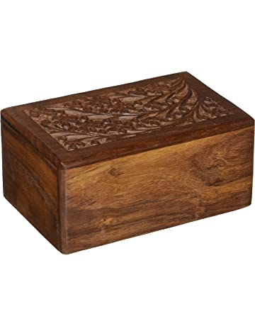 662c3ee125 Best sellers See more · Hand-Carved Rosewood Urn Box