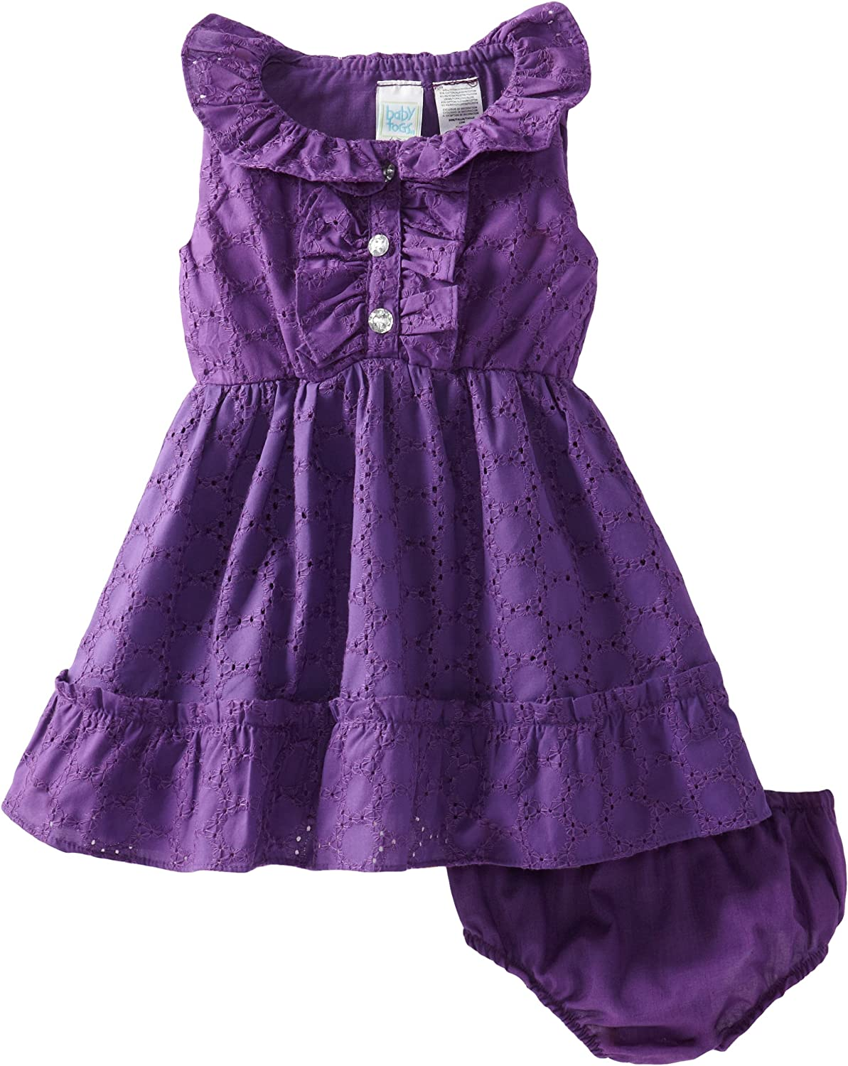 Baby Togs Baby Girls Eyelet Dress