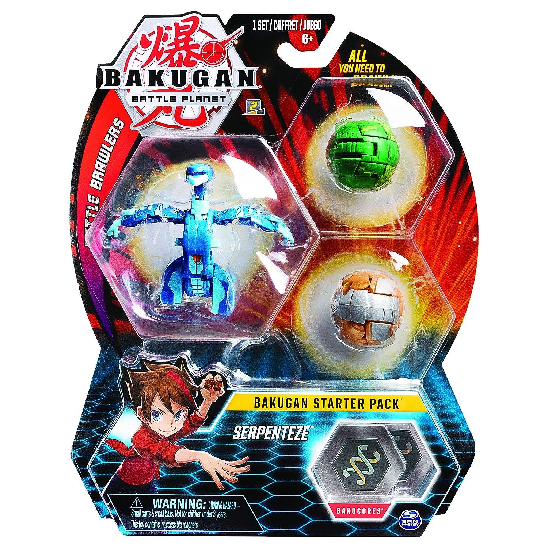 Jouet enfant /à collectionner Starter Pack Aurelus Dragonoid Bakugan 6055457