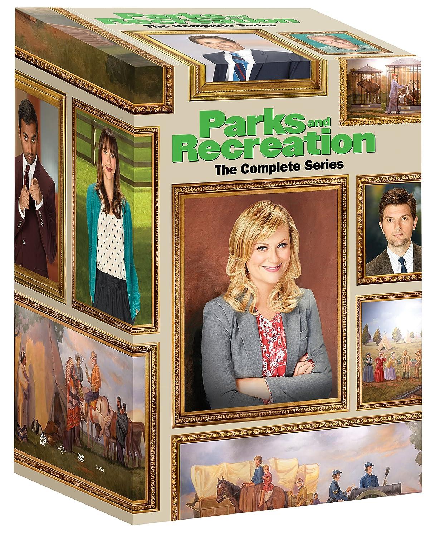 Parks And Recreation The Complete Series Amy Poehler Adam Scott Nick Offerman Aziz Ansari Aubrey Plaza Chris Pratt Retta Jim O Heir Movies Tv