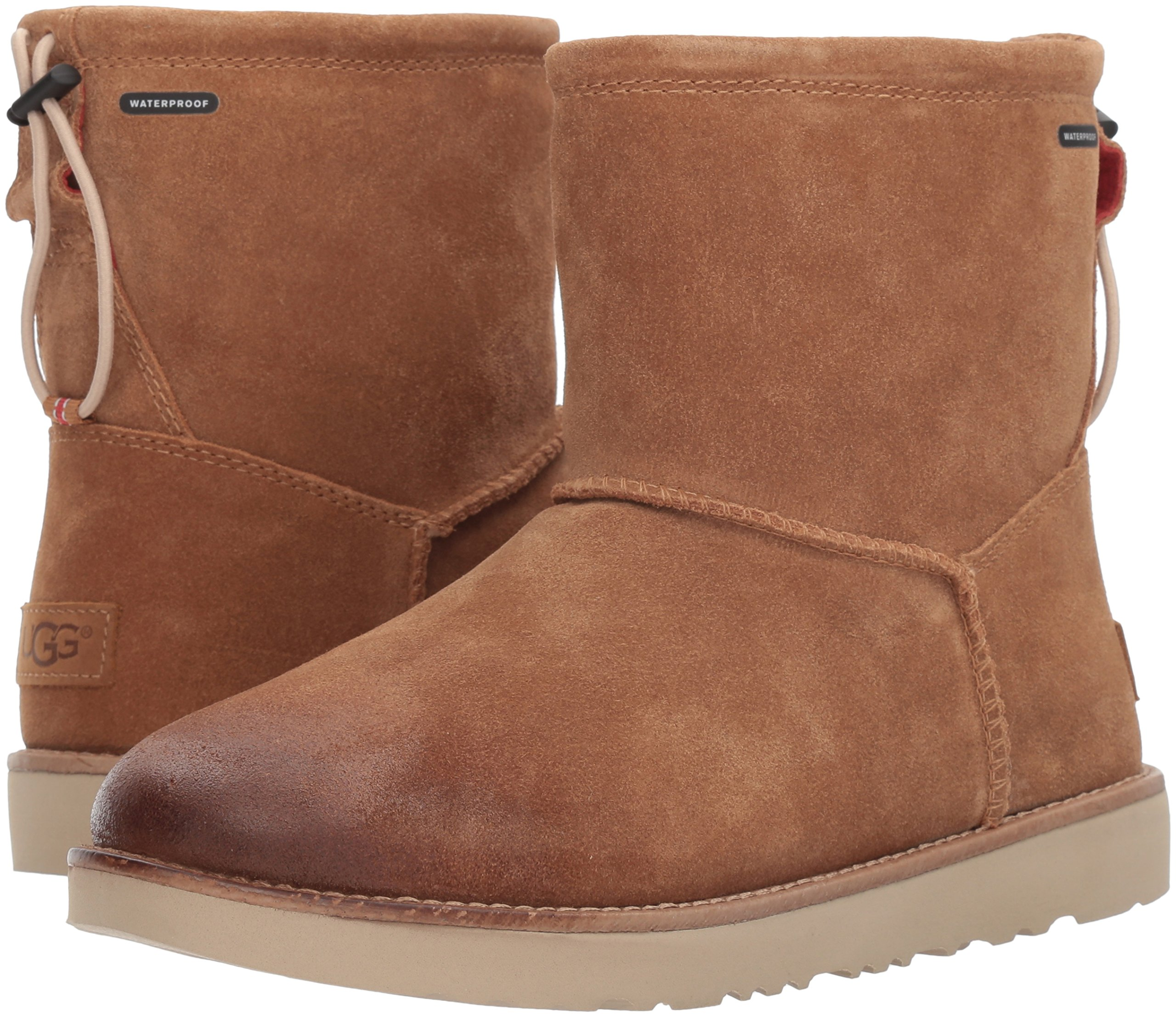 UGG Men's Classic Toggle Waterproof Winter Boot, Chestnut, 11 M US by UGG (Image #6)
