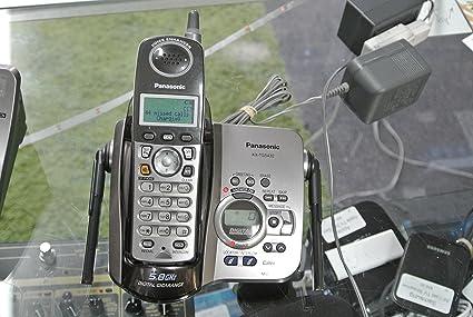 Panasonic KX-TG5432 M 5.8 GHz Gigarange (Metallic Silver) teléfono inalámbrico contestador automático Base de carga & KX-TGA542 M microteléfono: Amazon.es: Electrónica