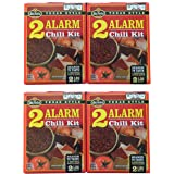 Amazon Com Wick Fowler S Products 2 Alarm Chili Kit 3 625 Ounce Boxes Pack Of 12 Packaged Chili Soups Grocery Gourmet Food