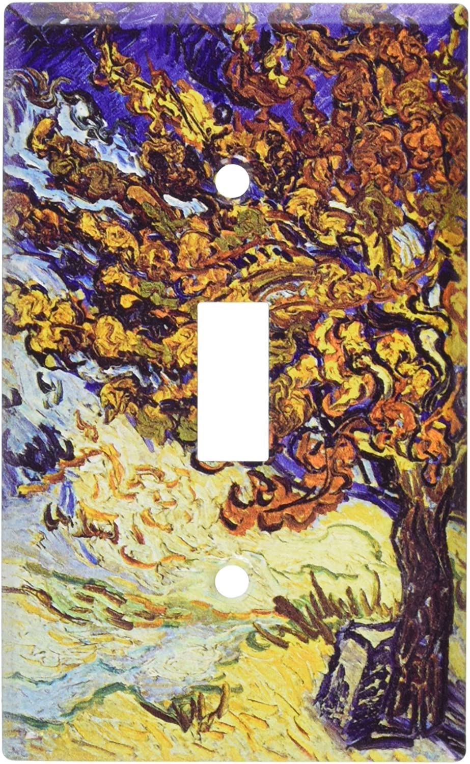 Art Plates - Van Gogh: Mulberry Tree Switch Plate - Single Toggle