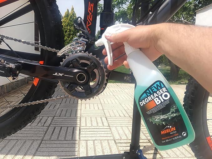 Merlin Bike Care Bio Desengrasante para Bicicleta, Unisex Adulto ...