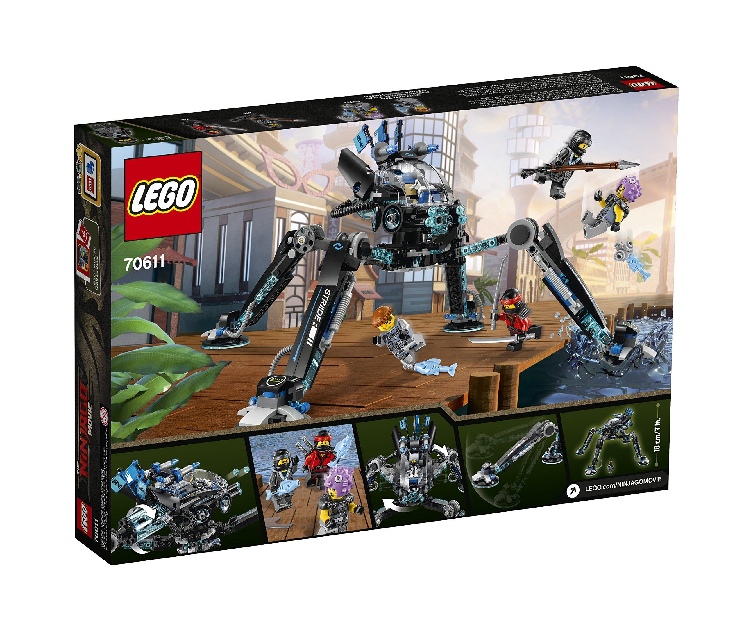 Lego for boys 6 12 lego ninjago water strider 70611 building kit 494 piece 691023576858 ebay - Lego ninjago 6 ...