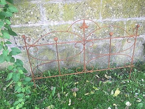 Recinzioni Da Giardino In Ferro : Recinzione per aiuole staccionata da giardino traliccio in ferro