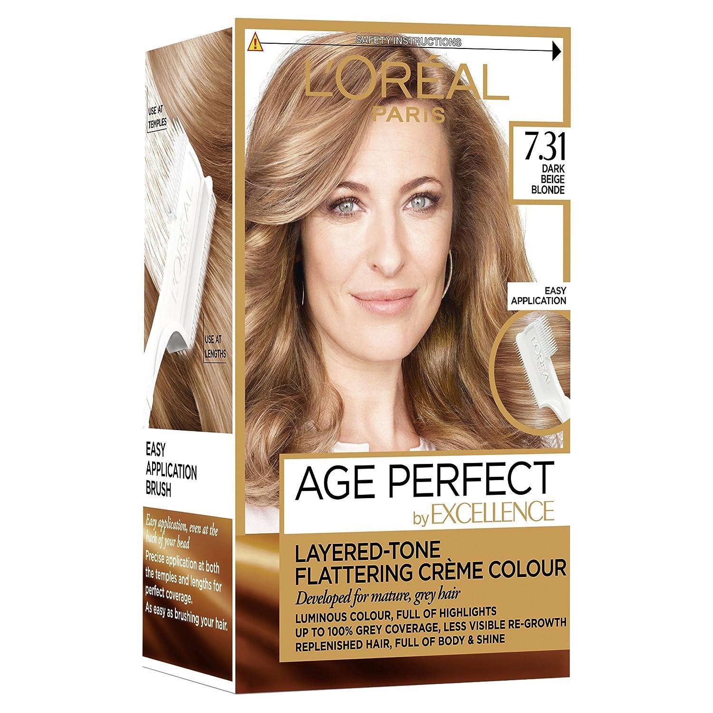 Loreal Excellence Age Perfect 731 Dark Caramel Blonde Hair Dye L
