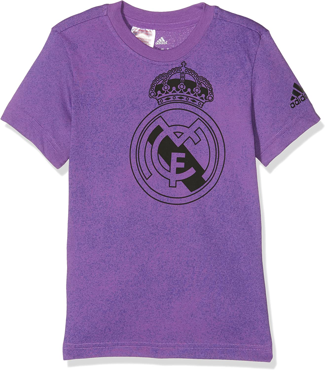 adidas Yb Real Madrid tee Camiseta de Manga Corta, Niños: Amazon ...