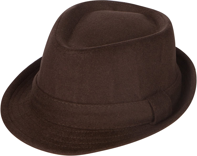 Sakkas Fedora Cappello invernale unisex in lana lavorata invernale (3 colori) 5055460114724