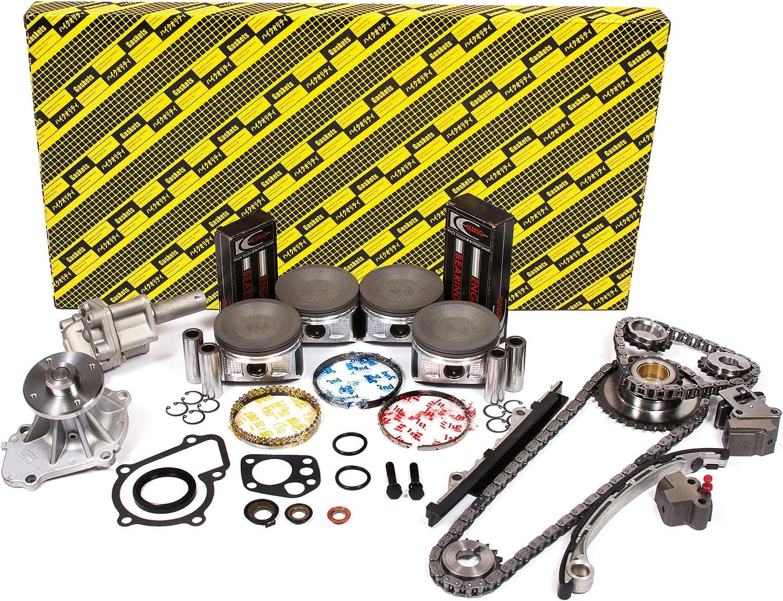 OK3016//0//0//0 98-04 Nissan Frontier Xterra 2.4L DOHC KA24DE 16V Engine Rebuild Kit