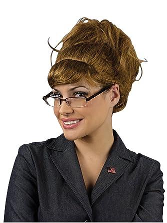 Amazon.com: Peluca de Sarah Palin: Clothing