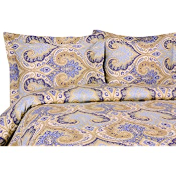 Amazon Com Elite Home Products Milano Paisley Collection