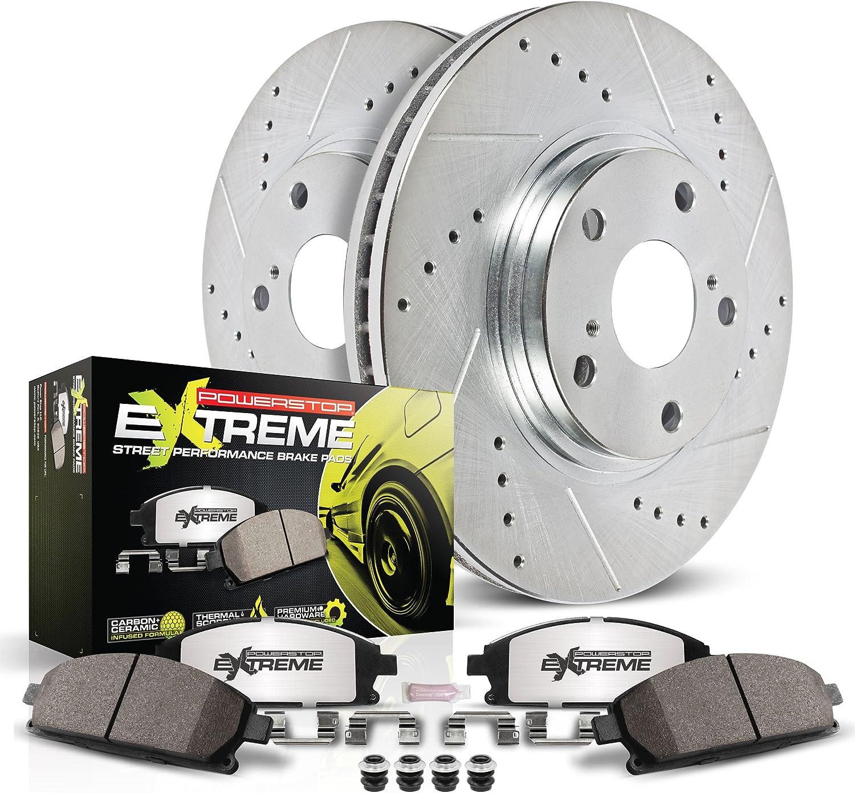 Power Stop K633-26 1-Click Street Warrior Z26 Brake Kit