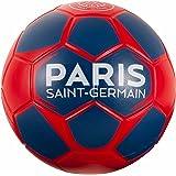 Ballon PSG - Collection officielle PARIS SAINT GERMAIN - Taille 4 - Football Supporter - Ligue 1 - Couleur bleu - Mousse résistante