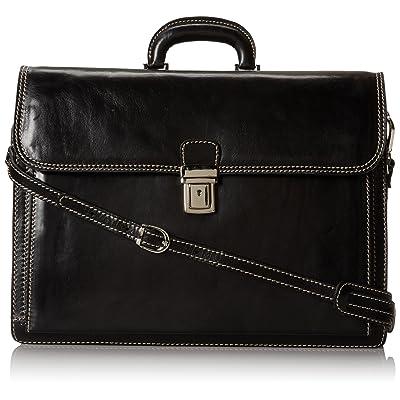 Floto Luggage Firenze Brief, Black, Large