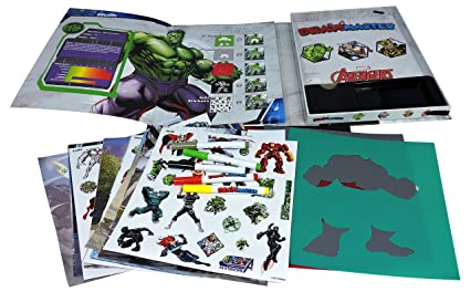 Amazoncom Disney Marvel Avengers Hulk Thor And Loki Drawmaster