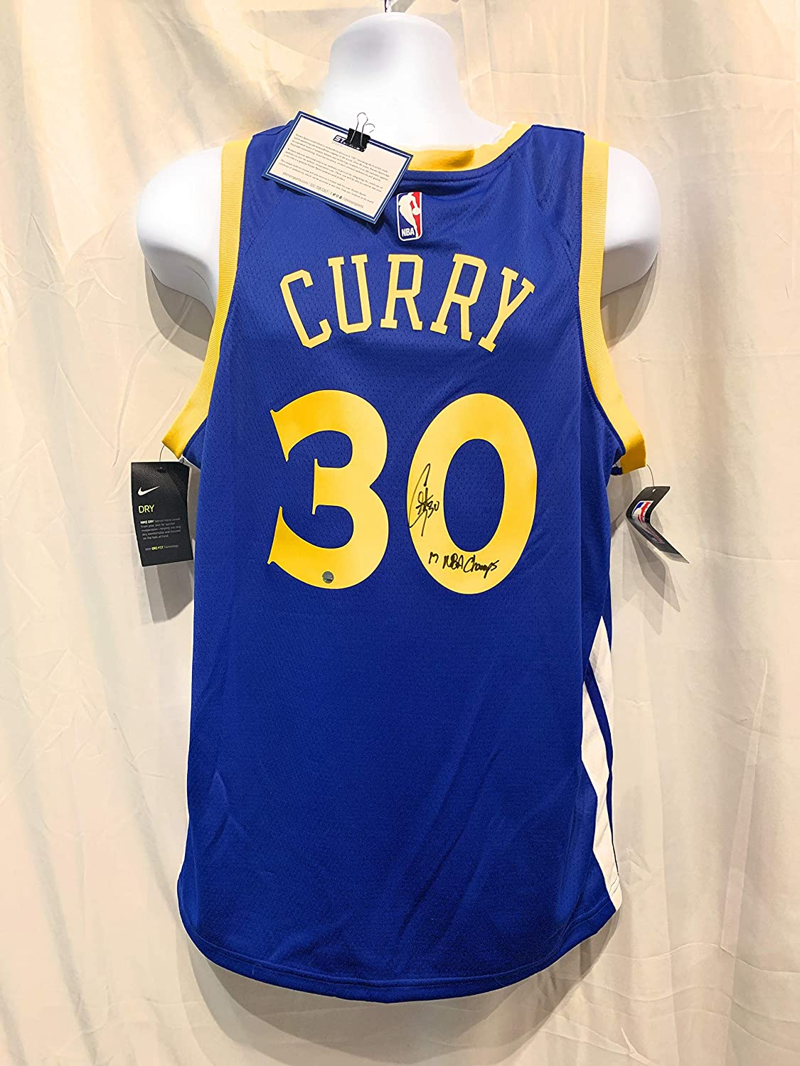 on sale 4fa6e f35fd Stephen Curry Steph Golden State Warriors Signed Autograph ...
