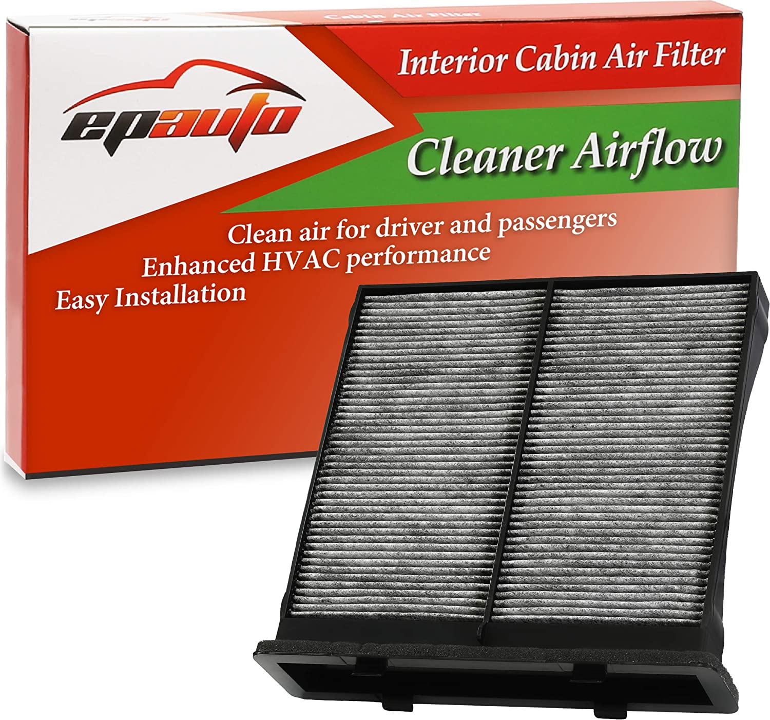 CF10930 EPAuto CP930 Replacement for Subaru Premium Cabin Air Filter includes Activated Carbon