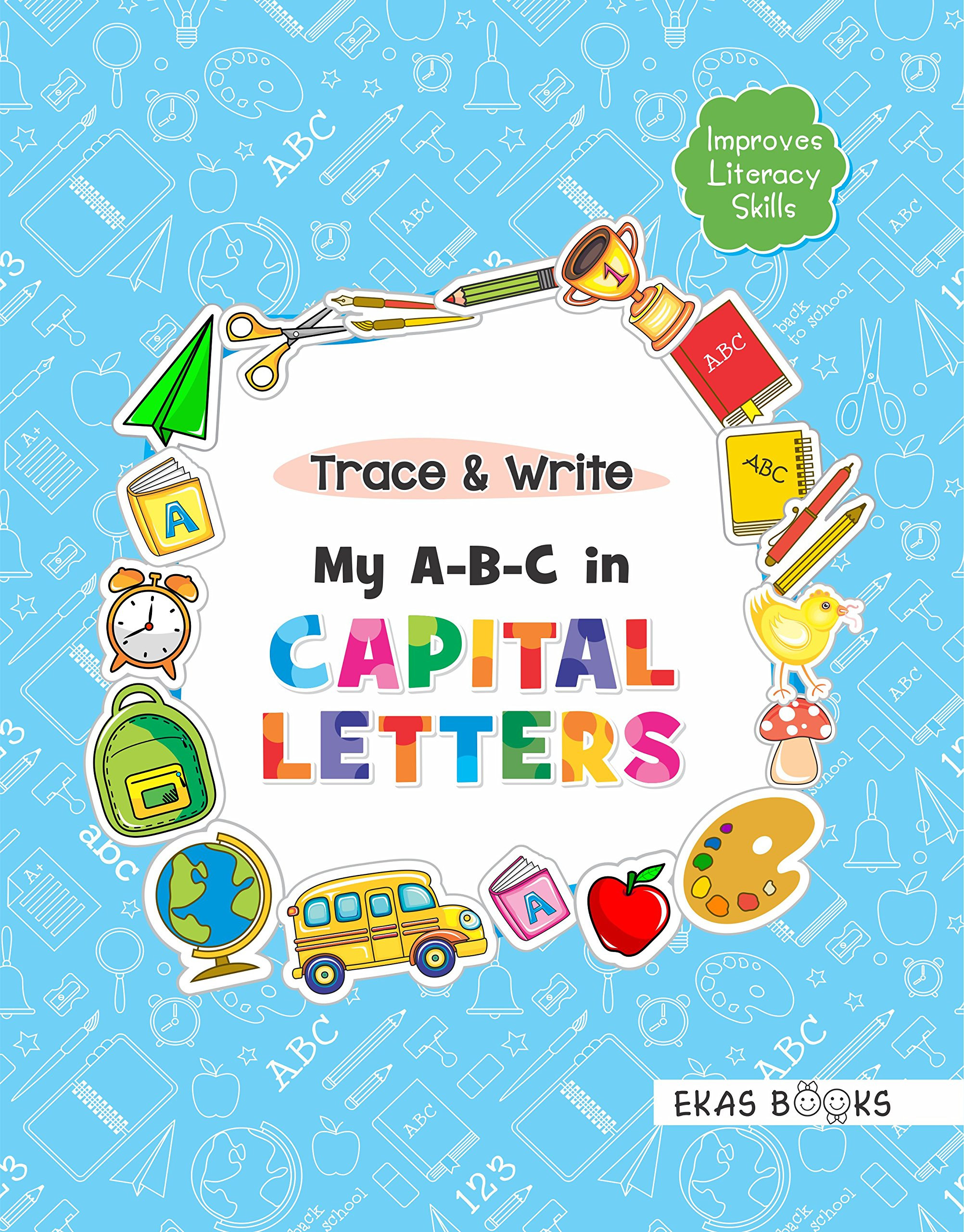 Buy Alphabet Book for 3 years old kids (Trace & Write - My A-B-C in ...