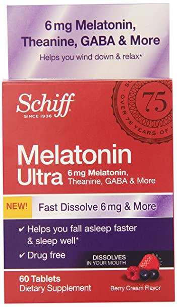 Image Unavailable. Image not available for. Color: Schiff Melatonin Ultra ...