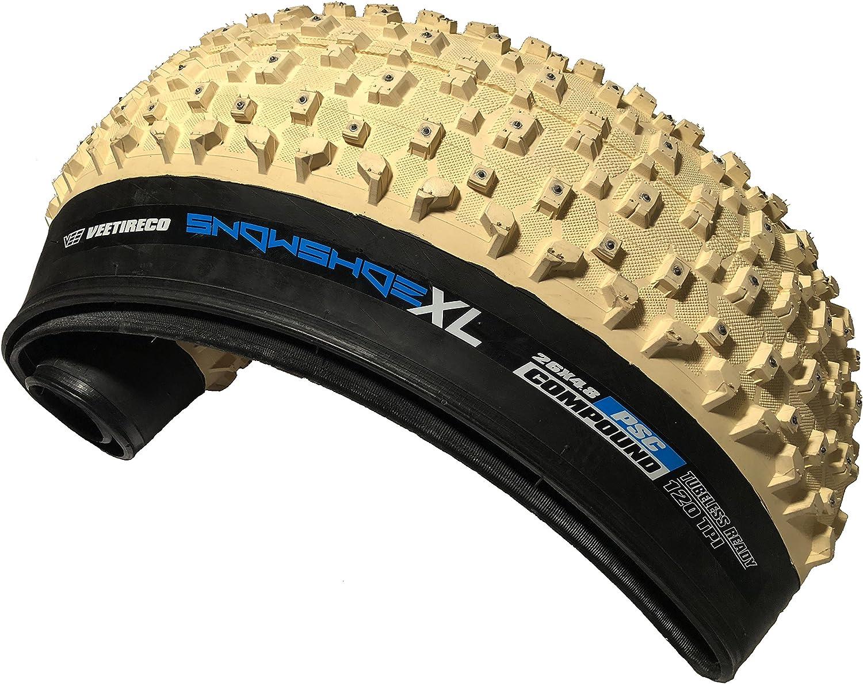 Amazon.com: VEE neumático 26 x 4,8 nieve zapato xl Studded ...