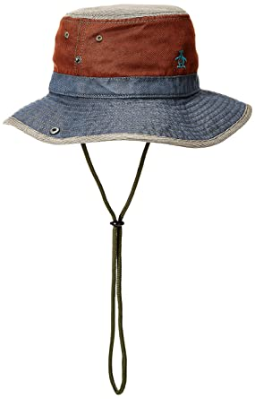 Amazon.com  Original Penguin Men s Rinse Safari Bucket Hat 430c6e880cb
