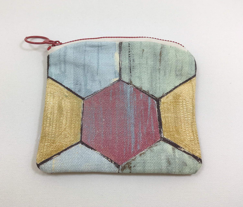 Monedero colmena multicolor, hecho a mano: Amazon.es: Handmade