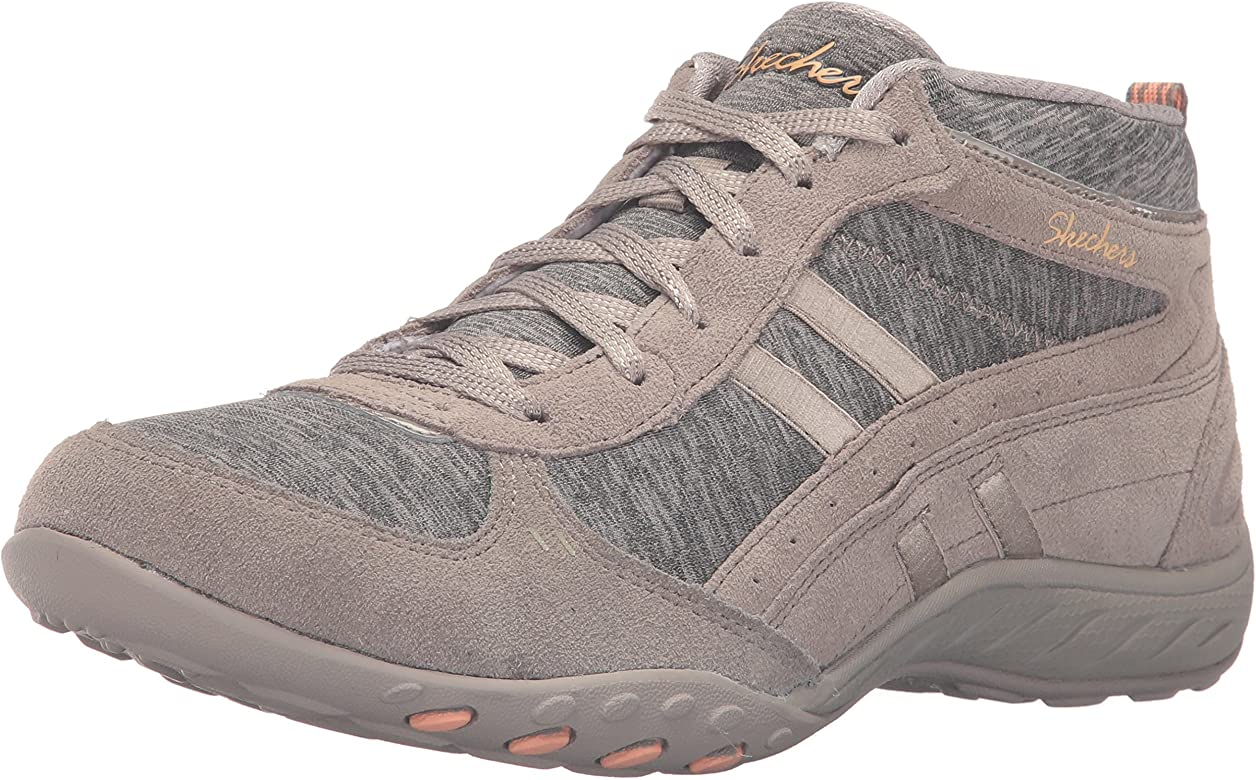 Zapatillas de deporte Sport Outlet Fashion Shout Out, Taupe Suede / Jersey / Peach Trim, 8 M US: Amazon.es: Zapatos y complementos
