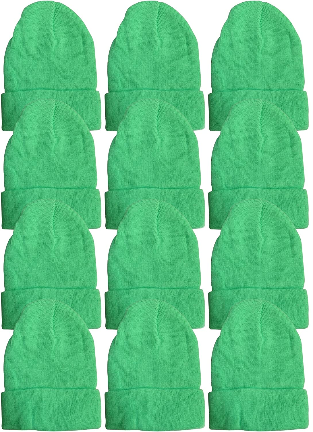 df7c2b5daf8 12 Units excell Mens Womens Warm Winter Hats in Assorted Colors