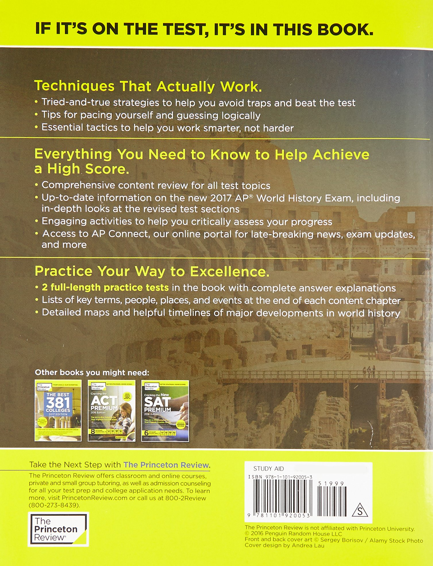 Cracking the ap world history exam 2017 edition proven techniques cracking the ap world history exam 2017 edition proven techniques to help you score a 5 princeton review 9781101920053 books amazon gumiabroncs Images