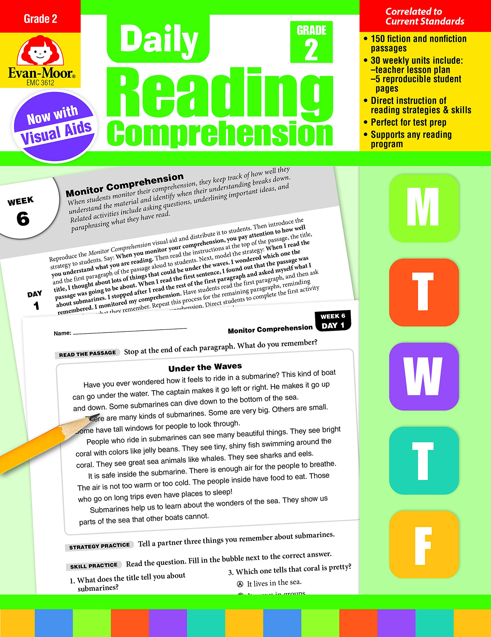 - Amazon.com: Daily Reading Comprehension, Grade 2 (9781629384757